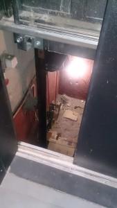 Очередной ремонт лифта