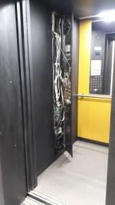 Приказная панель лифта